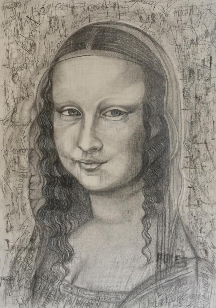 Mona Lisa por allllicia